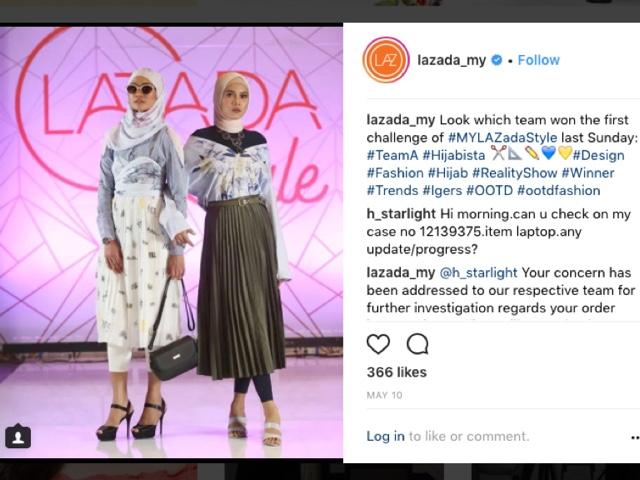 Rancangan Realiti Fashion LAZADASTYLE