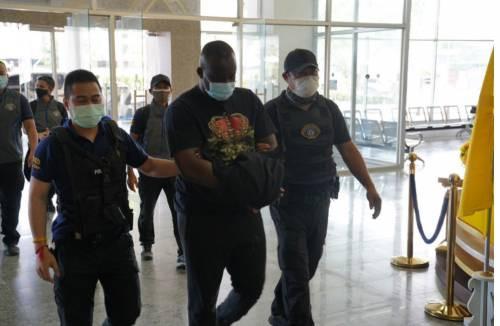 Nigerian man Ezeneche Uzochukwu and others arrested in Bangkok over $20Million romance scam
