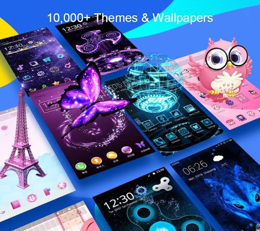 CM Launcher 3D - Theme,wallpaper,Secure,Efficient screenshot 1