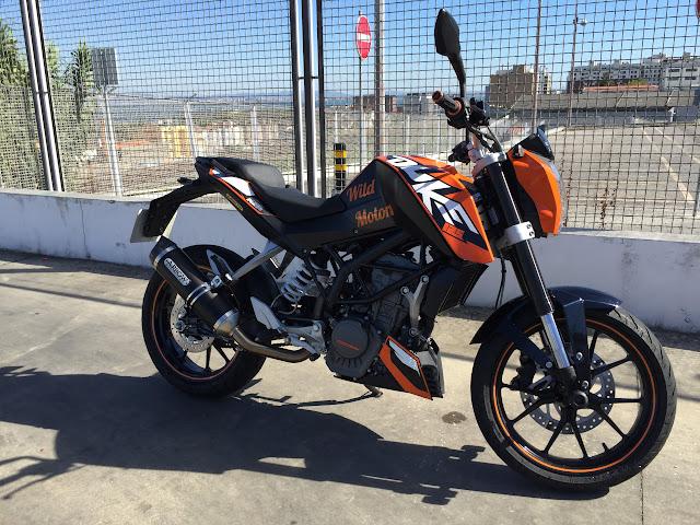 KTM DUKE 125 - Raphha IMG_0505