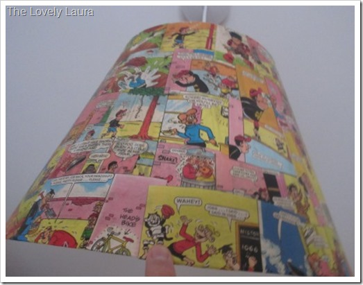 Beano Covered Light Shade