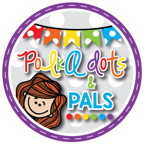 Grab button for POLKA DOTS AND PALS