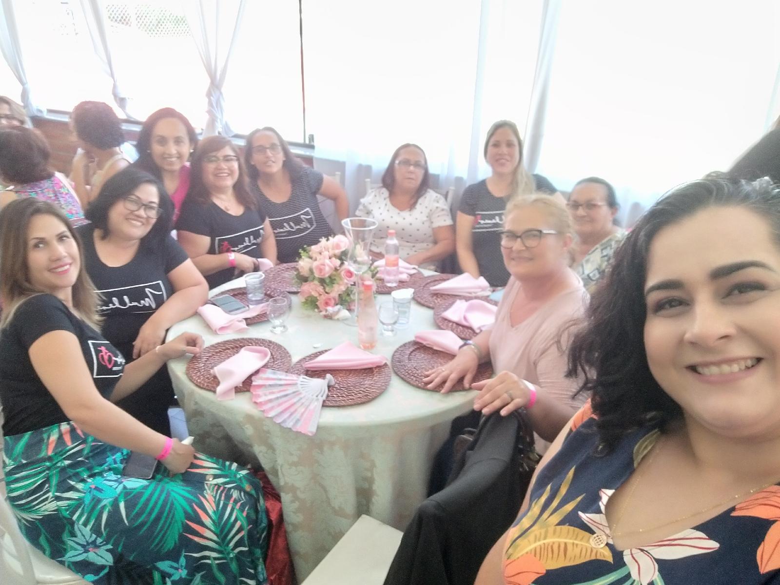 Chá Mulheres Transformadas