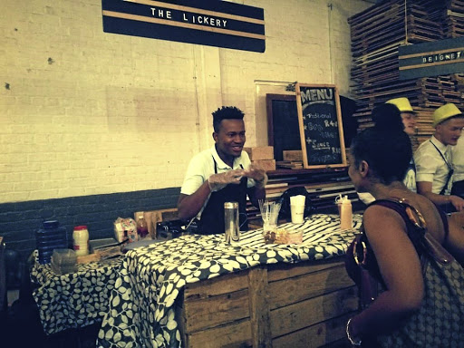 Thabo Mangwani, owner of The Lickery, which is growing and spreading its wings.