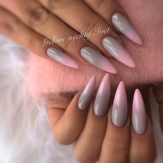 25 Best Gel Nail Art Designs For Long Nails 2018 - Fashonails