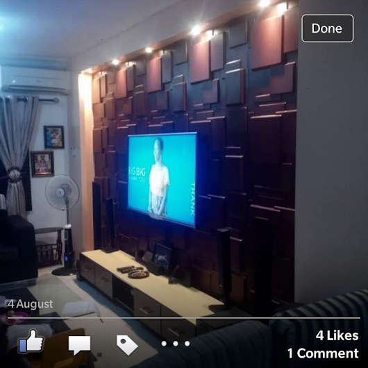 Pictures: See What a Nigerian is doing with Home Design plus great offer