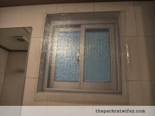 Bubble Wrap Window Insulation The Packrat Wifey