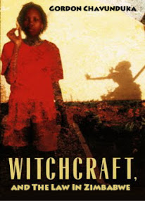 Cover of Gordon Chavunduka's Book Witchcraft And The Law In Zimbabwe