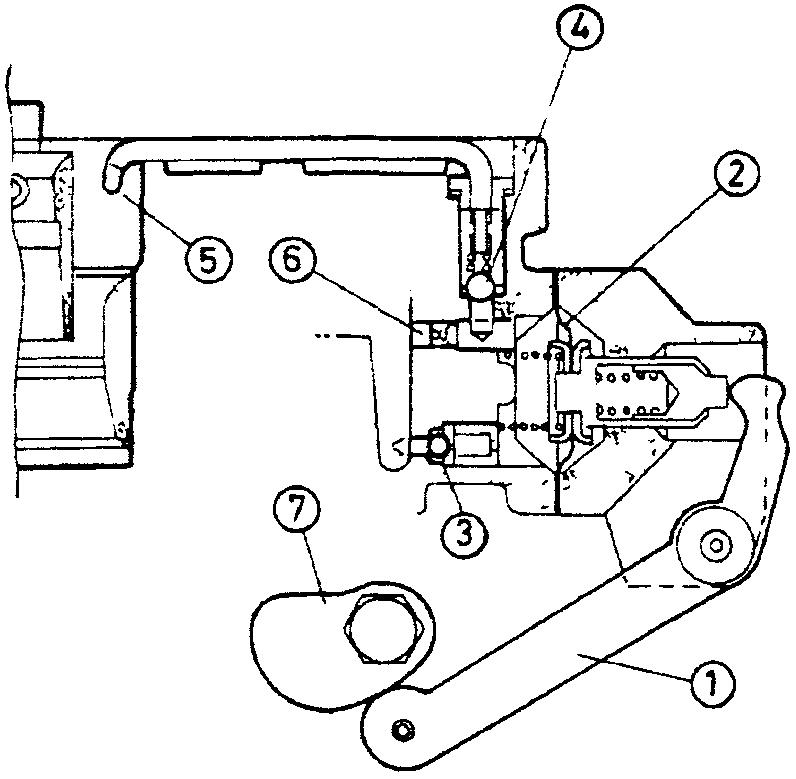 Схема насоса-ускорителя – диафрагменного типа