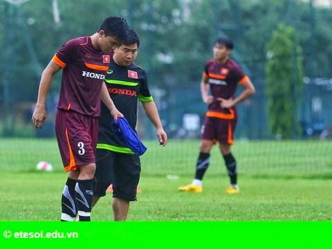 Hình 1: U23 Việt Nam tiếp nhận ca chấn thương mới