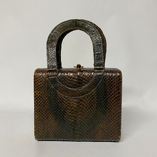 Genuine Cobra Skin Handbag