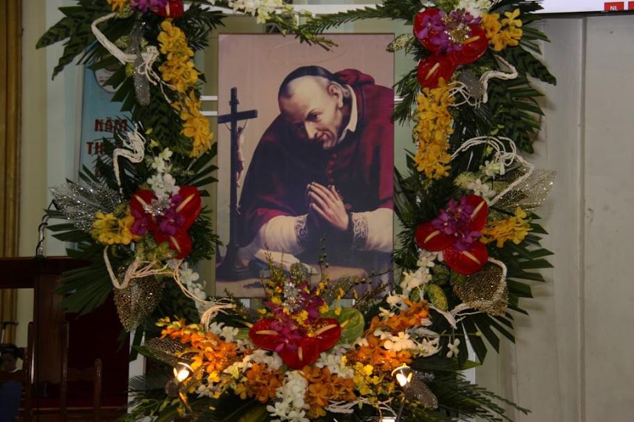 Đền Đức Mẹ Hằng Cứu Giúp Sài Gòn : Khai Mạc Tam Nhật Mừng Lễ Thánh Anphongsô Maria Liguori