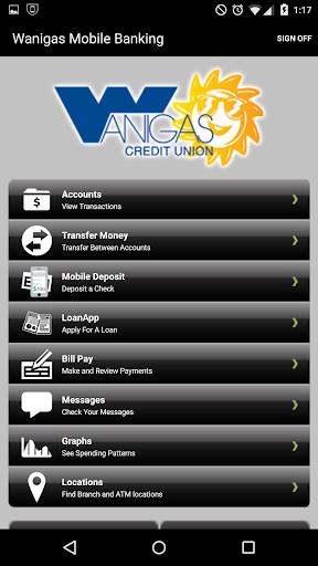 Wanigas Credit Union Mobile