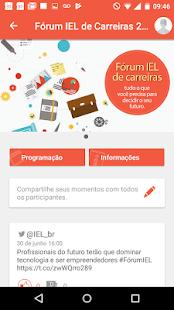 Fórum IEL de Carreiras - náhled