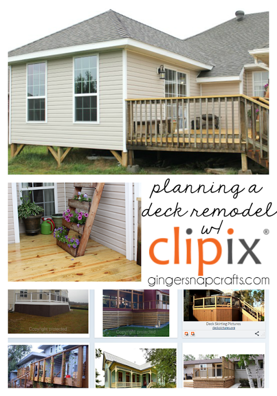 Planning a Deck Remodel with Clipix