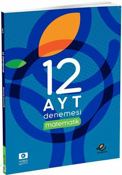 Endemik Yayınları AYT Matematik 12li Denemesi