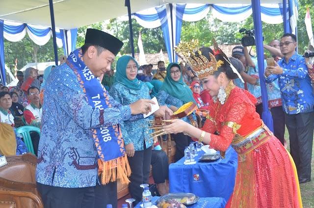 Bupati Lampung Utara Hadiri acara Lomba kesrak PKK-KB Kesehatan Tingkat propinsi