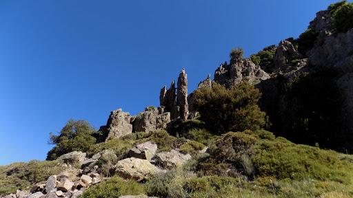 Dans la montée vers le Capu a e Poste