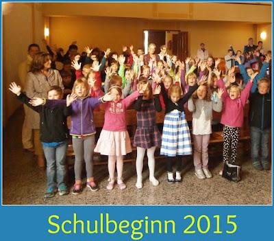 Schulbeginn 2015