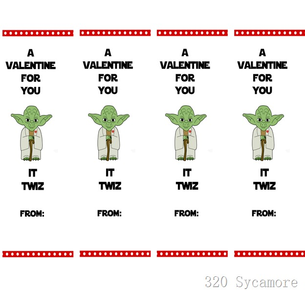 twizzler valentine yoda printable