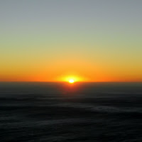 Sunset on Lions Head