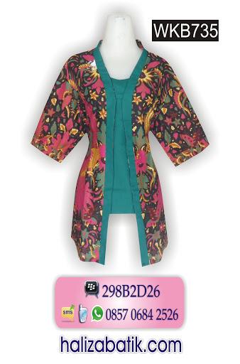 model baju batik terkini, mode batik modern, butik baju batik