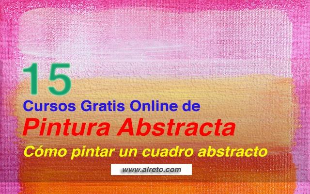 15 Cursos Gratis Online de Pintura Abstracta - Cómo Pintar Cuadros ...