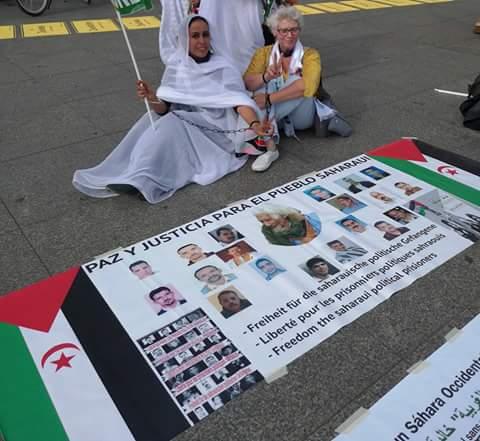 وقفة تضامنية مع الشعب الصحراوي بالعاصمة الألمانية برلين