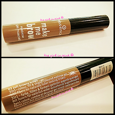 #Essence make me #brow #eyebrow #gel #mascara