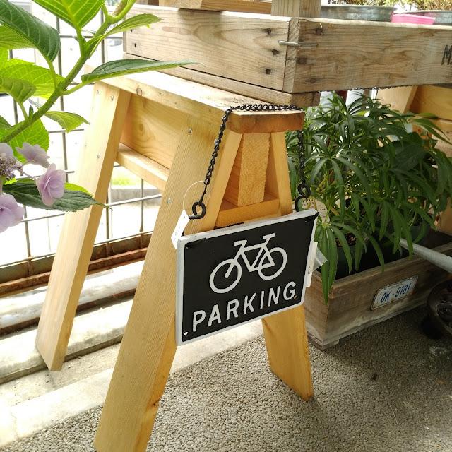 アイアンサイン自転車バイシクルPARKING駐輪場看板