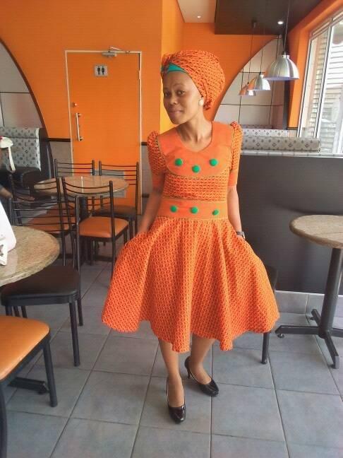 Lovely and beautiful shweshwe dresses♥♥♥