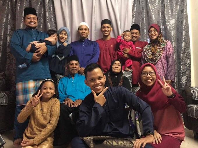 Salam Eidul Fitri - Indahnya Raya Bersama Keluarga Tercinta