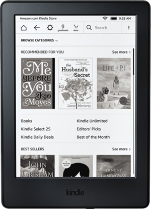 kindle black