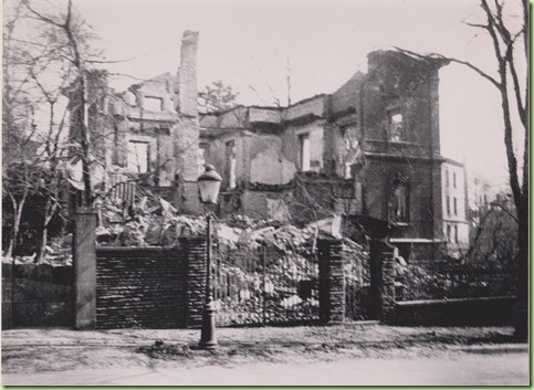 Chemitz house past March 5 1945 bomb which killed Carl