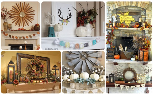 20 fall not thanksgiving or halloween mantels