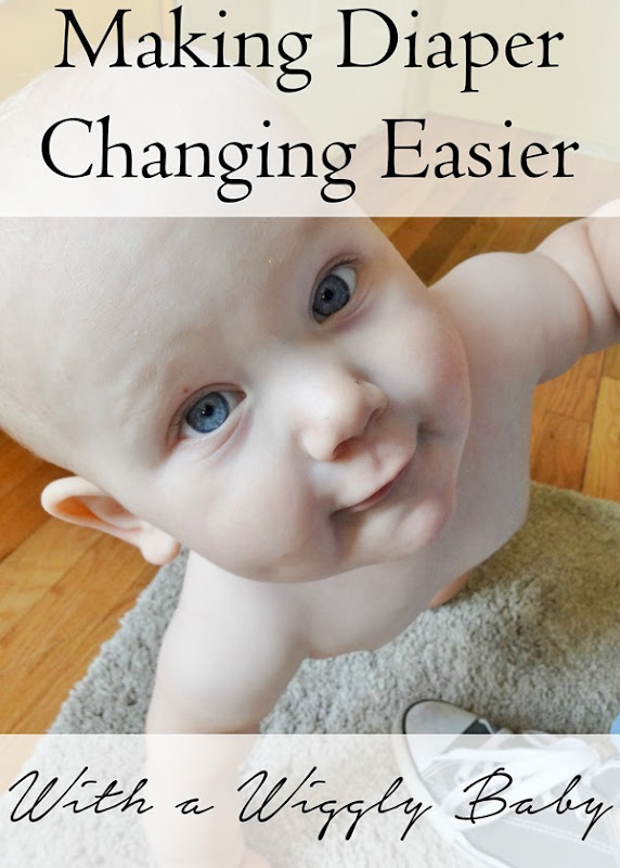 Is your baby a wiggle worm  Check out these great tips for managing diaper changing time!