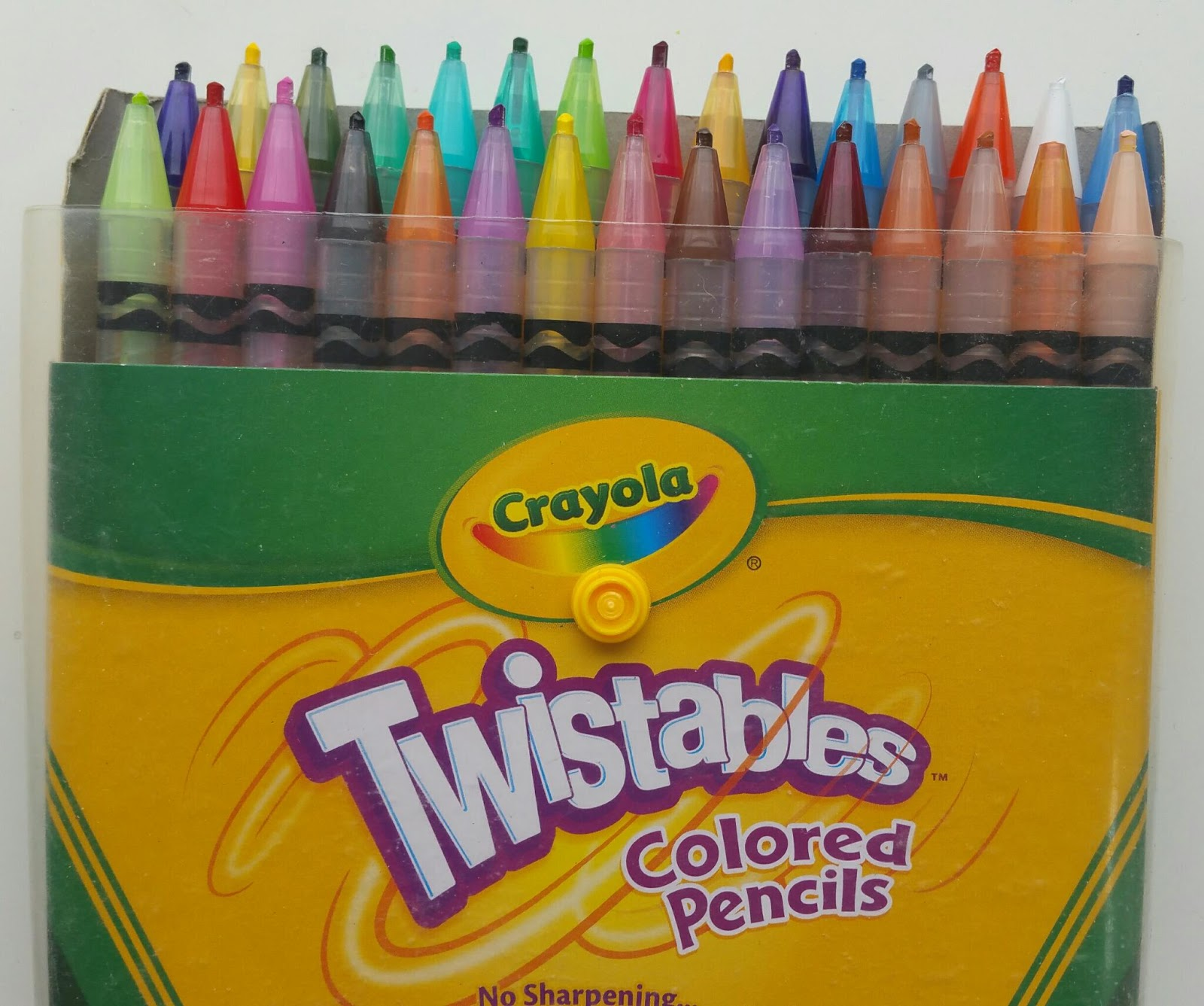 Crafty Product Review: Crayola Twistables Colored Pencils