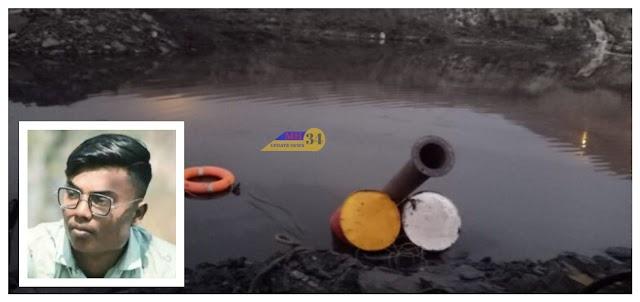 कोळसा खाणीच्या पाण्यात बुडून कामगाराचा मृत्यु