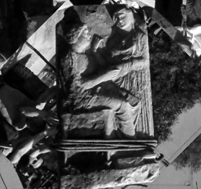 Μία σπάνια σκηνή εύρεσης ταφικής στήλης το 1964  - ΒΙΝΤΕΟ