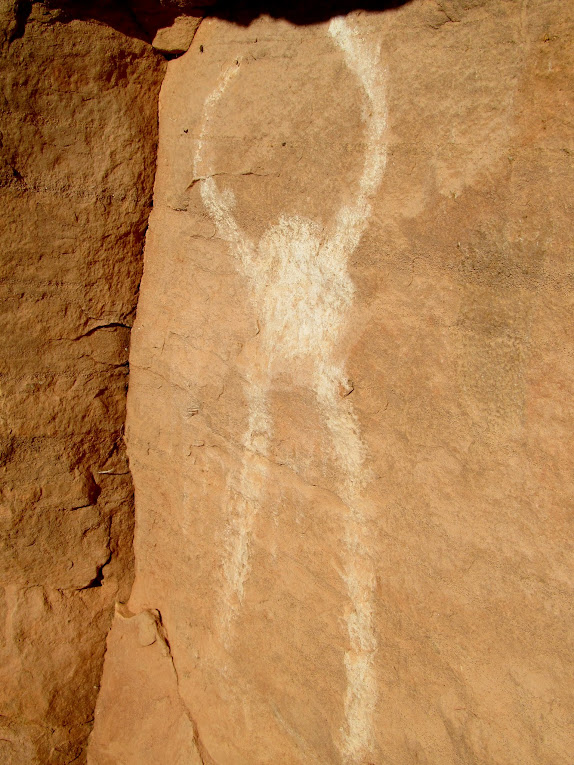 White pictograph