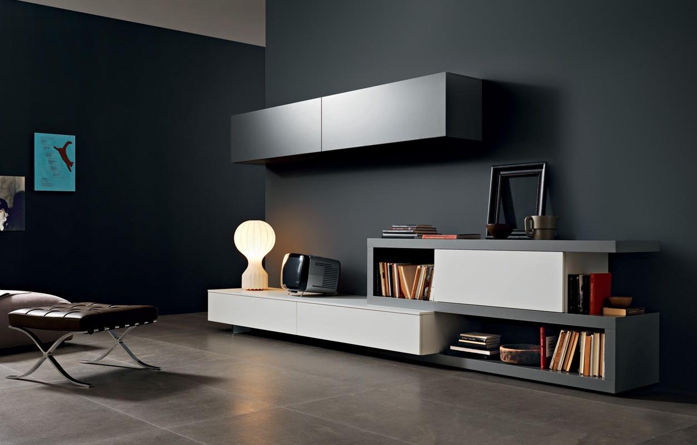 soggiorno Lampo collezione LA CASA MODERNA -L2-23 laccato ferro e bianco .jpg
