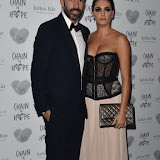 OIC - ENTSIMAGES.COM - Robert Pires and Jessica Lemarie at the   Chain Of Hope Annual Ball  London Friday 20Th November 2015 Photo Mobis Photos/OIC 0203 174 1069