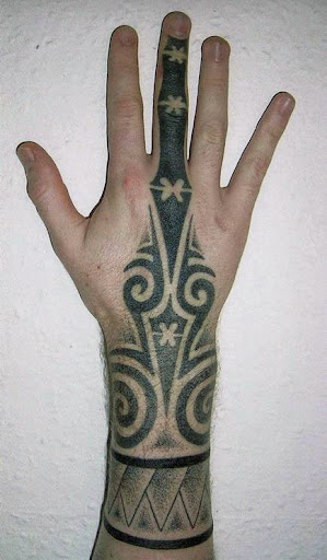 hands tattoos