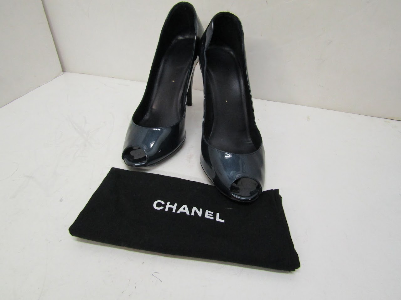 Chanel Peep Toe Heels