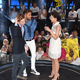 OIC - ENTSIMAGES.COM - Nick Henaerson , Cristian MJC  and Emma Willis at the  Big Brother live final at Elstree Studios UK 16th July 2015 Photo Mobis Photos/OIC 0203 174 1069