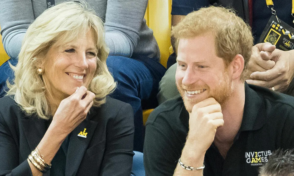 Prince Harry to Team up with First Lady Jill Biden for very Special Event