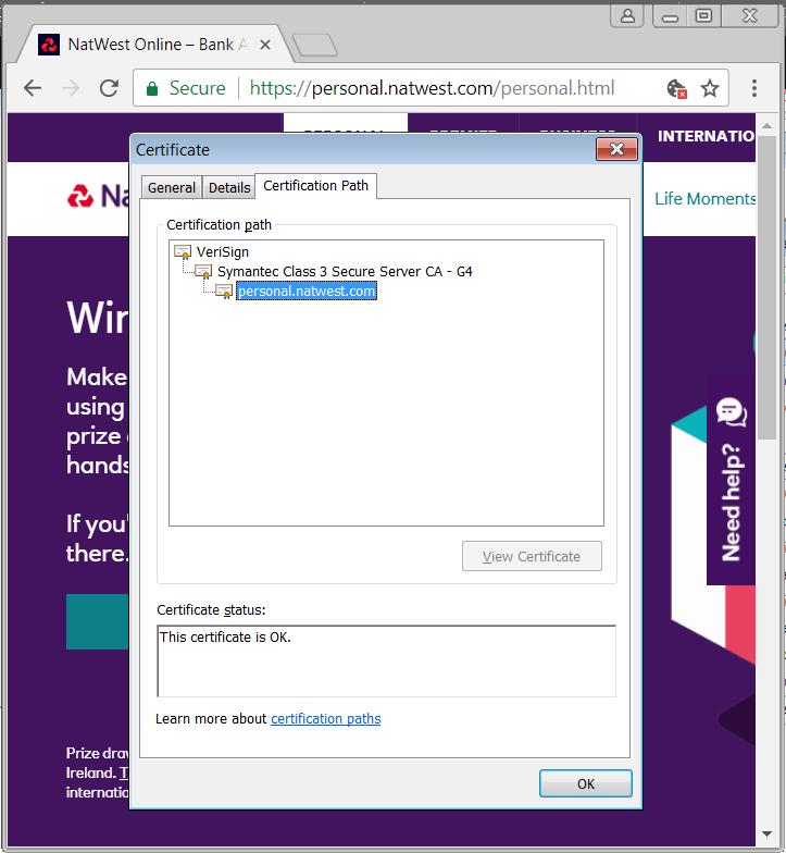 Symantec certificates and chrome    - Google Chrome Hjälp