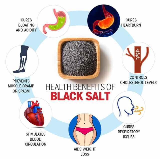 إليك الفوائد الصحية للملح الأسود