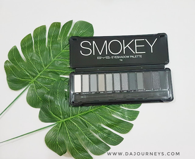 [Review] BYS SMOKEY Eyeshadow Palette