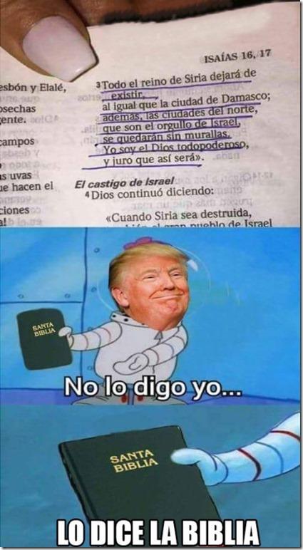 meme lo dice la biblia